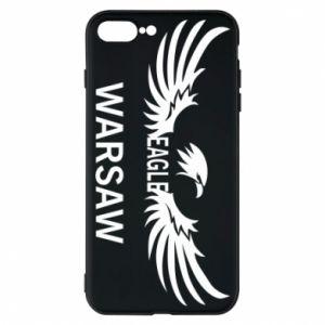 Phone case for iPhone 7 Plus Warsaw eagle black or white - PrintSalon