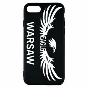 Phone case for iPhone 8 Warsaw eagle black or white - PrintSalon