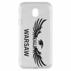 Phone case for Samsung J3 2017 Warsaw eagle black or white - PrintSalon