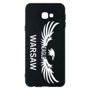 Phone case for Samsung J4 Plus 2018 Warsaw eagle black or white - PrintSalon