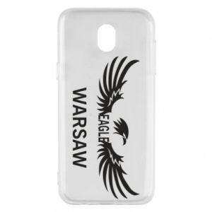 Phone case for Samsung J5 2017 Warsaw eagle black or white - PrintSalon