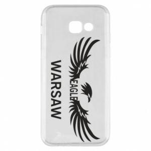 Phone case for Samsung A5 2017 Warsaw eagle black or white - PrintSalon