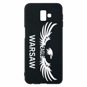 Phone case for Samsung J6 Plus 2018 Warsaw eagle black or white - PrintSalon