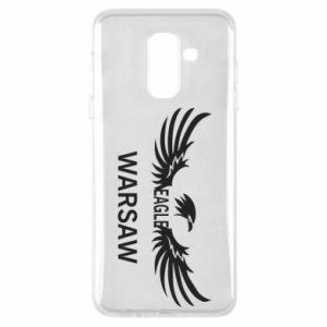 Phone case for Samsung A6+ 2018 Warsaw eagle black or white - PrintSalon