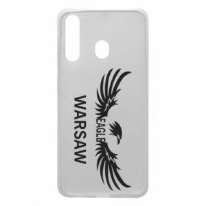 Phone case for Samsung A60 Warsaw eagle black or white - PrintSalon