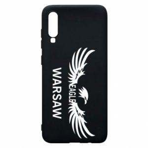 Phone case for Samsung A70 Warsaw eagle black or white - PrintSalon