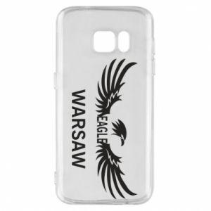 Phone case for Samsung S7 Warsaw eagle black or white - PrintSalon
