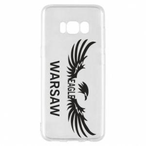 Phone case for Samsung S8 Warsaw eagle black or white - PrintSalon