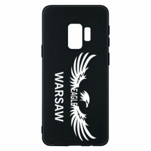 Phone case for Samsung S9 Warsaw eagle black or white - PrintSalon