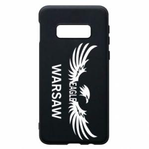 Phone case for Samsung S10e Warsaw eagle black or white - PrintSalon