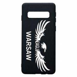 Phone case for Samsung S10 Warsaw eagle black or white - PrintSalon