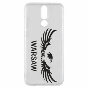 Phone case for Huawei Mate 10 Lite Warsaw eagle black or white - PrintSalon