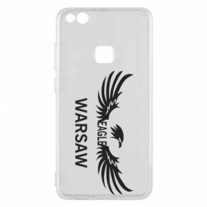 Phone case for Huawei P10 Lite Warsaw eagle black or white - PrintSalon