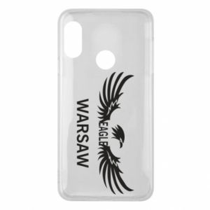 Phone case for Mi A2 Lite Warsaw eagle black or white - PrintSalon