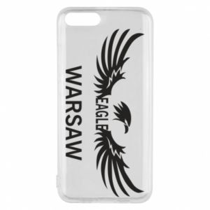 Phone case for Xiaomi Mi6 Warsaw eagle black or white - PrintSalon