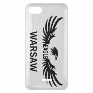 Phone case for Xiaomi Redmi 6A Warsaw eagle black or white - PrintSalon