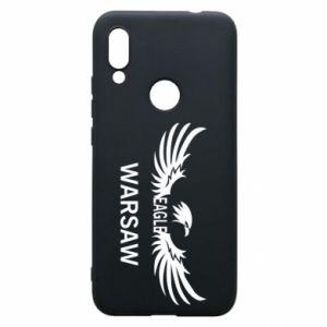 Phone case for Xiaomi Redmi 7 Warsaw eagle black or white - PrintSalon