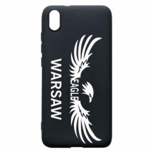 Phone case for Xiaomi Redmi 7A Warsaw eagle black or white - PrintSalon