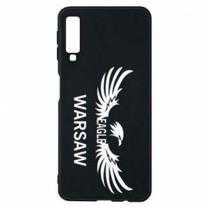 Phone case for Samsung A7 2018 Warsaw eagle black or white - PrintSalon