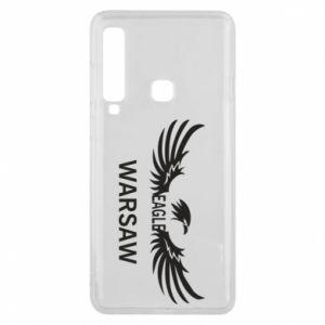 Phone case for Samsung A9 2018 Warsaw eagle black or white - PrintSalon