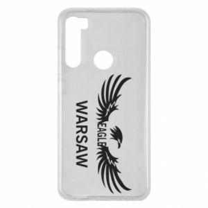 Xiaomi Redmi Note 8 Case Warsaw eagle black or white