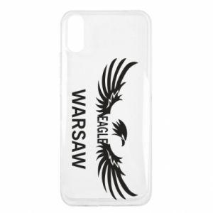 Etui na Xiaomi Redmi 9a Warsaw eagle black or white