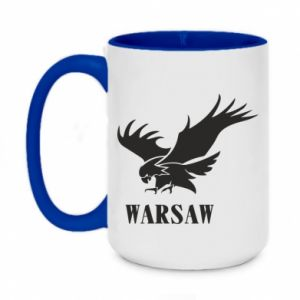 Kubek dwukolorowy 450ml Warsaw eagle
