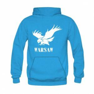 Bluza z kapturem dziecięca Warsaw eagle