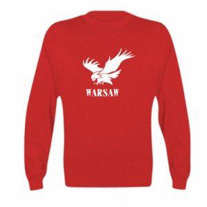 Bluza dziecięca Warsaw eagle