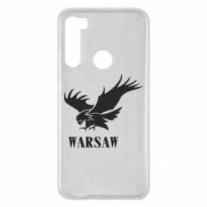 Etui na Xiaomi Redmi Note 8 Warsaw eagle