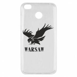 Etui na Xiaomi Redmi 4X Warsaw eagle