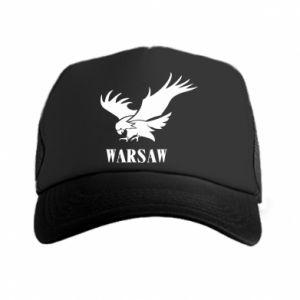 Czapka trucker Warsaw eagle
