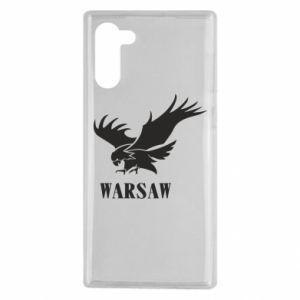 Etui na Samsung Note 10 Warsaw eagle