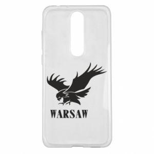 Etui na Nokia 5.1 Plus Warsaw eagle