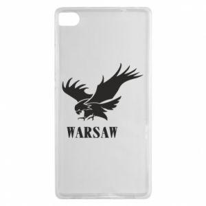 Etui na Huawei P8 Warsaw eagle