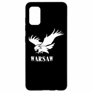 Etui na Samsung A41 Warsaw eagle