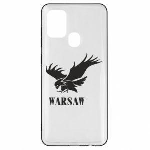 Etui na Samsung A21s Warsaw eagle