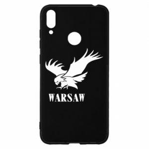 Etui na Huawei Y7 2019 Warsaw eagle