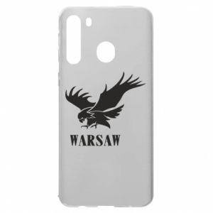 Etui na Samsung A21 Warsaw eagle