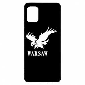 Etui na Samsung A31 Warsaw eagle