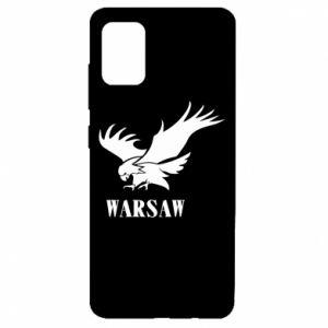 Etui na Samsung A51 Warsaw eagle