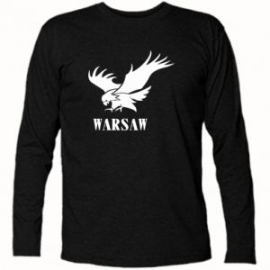 Koszulka z długim rękawem Warsaw eagle