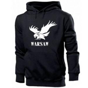 Męska bluza z kapturem Warsaw eagle