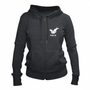 Damska bluza na zamek Warsaw eagle