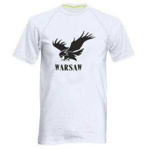 Męska koszulka sportowa Warsaw eagle