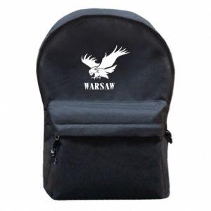 Plecak z przednią kieszenią Warsaw eagle