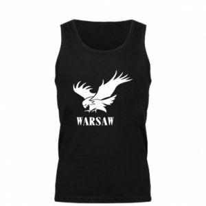 Męska koszulka Warsaw eagle