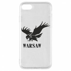 Etui na iPhone 8 Warsaw eagle