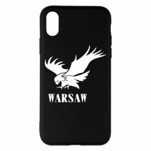 Etui na iPhone X/Xs Warsaw eagle