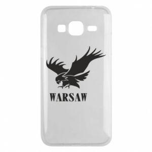 Etui na Samsung J3 2016 Warsaw eagle